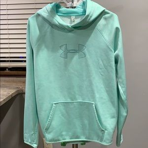 Under Armour Mint Green Hoodie